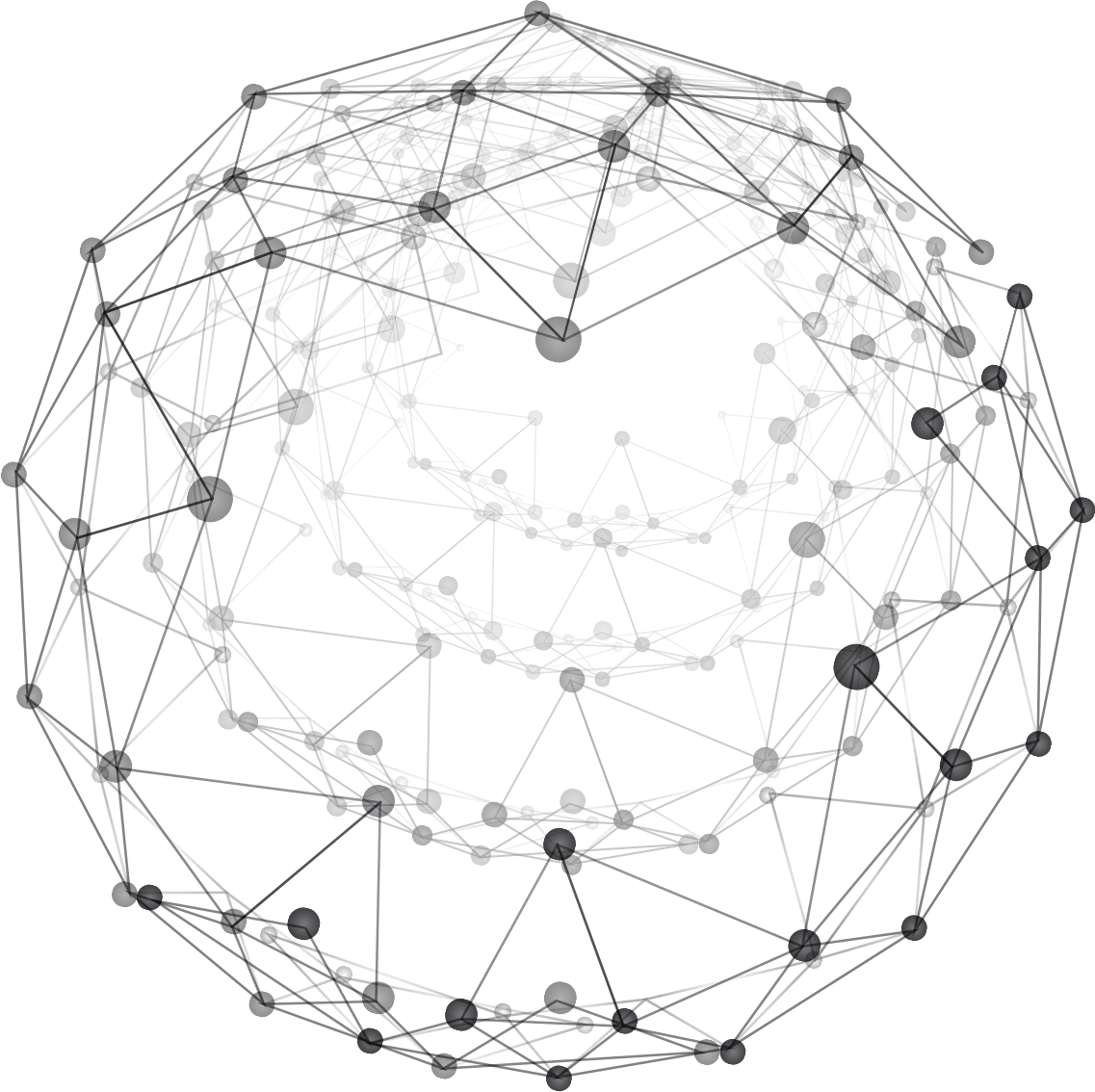 Background Rotating Sphere Pattern